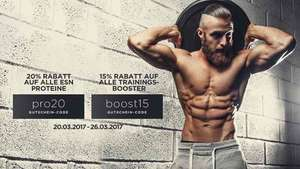 15% auf alle Trainings-Booster