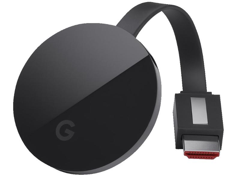 Google Chromecast Ultra (4K + HDR) für 69€ versandkostenfrei [Saturn]