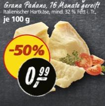 Grana Padano vom 20.03. bis 25.03.17 bei Real
