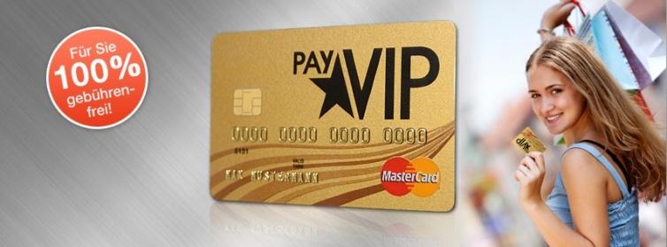 Advanzia PayVIP MasterCard Gold mit 10€ Cashback +15€ Amazon Gutschein @Shoop