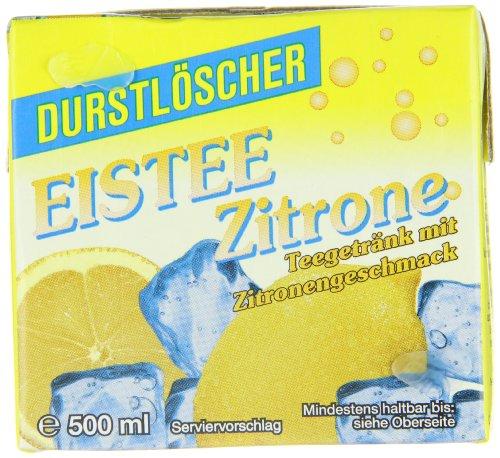 (AMAZON PLUS PRODUKT) 12 x WeserGold Durstlöscher Eistee Zitrone 0,5L, Versand in 1-2 Monaten