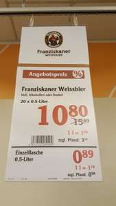 Lokal - Franziskaner bei Globus SB Warenhaus Frankfurt am Main