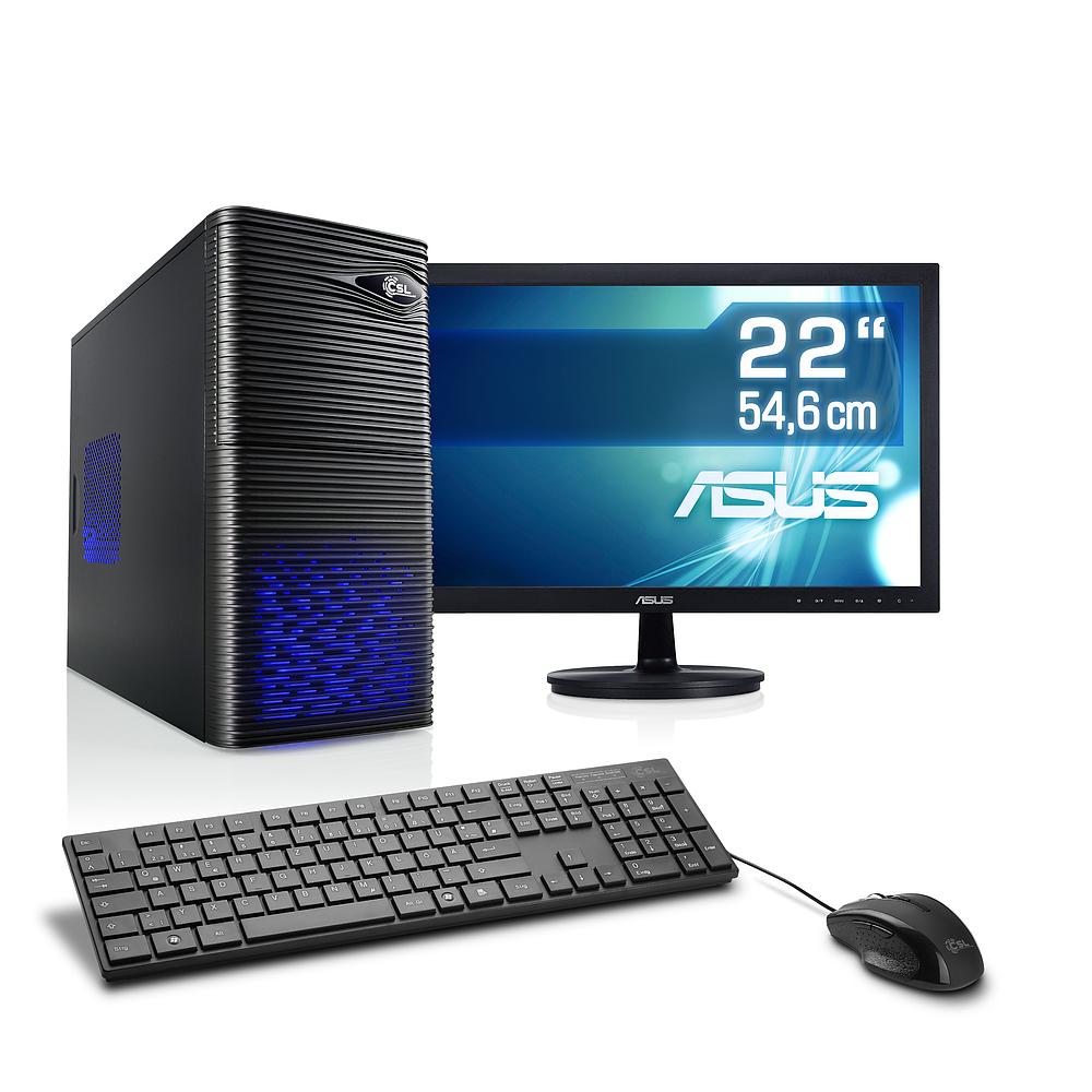 Desktop PC mit Intel® Core™ i5-7500 8 GB DDR4,