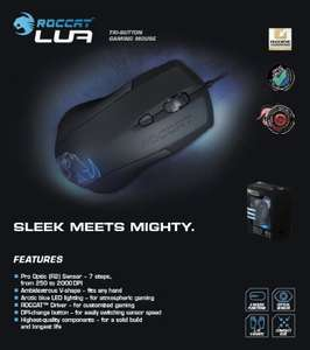 Rakuten Angebot: Roccat Lua Tri-Button Gaming Maus 2000 dpi