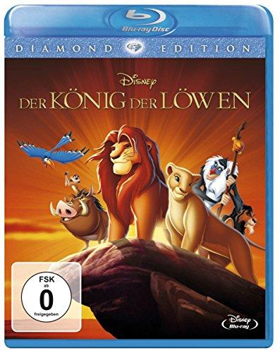 """Disney's """"Der König der Löwen"""" (Diamond Edition 2016) auf Blu-Ray für 11,90 € [Amazon Prime]"""