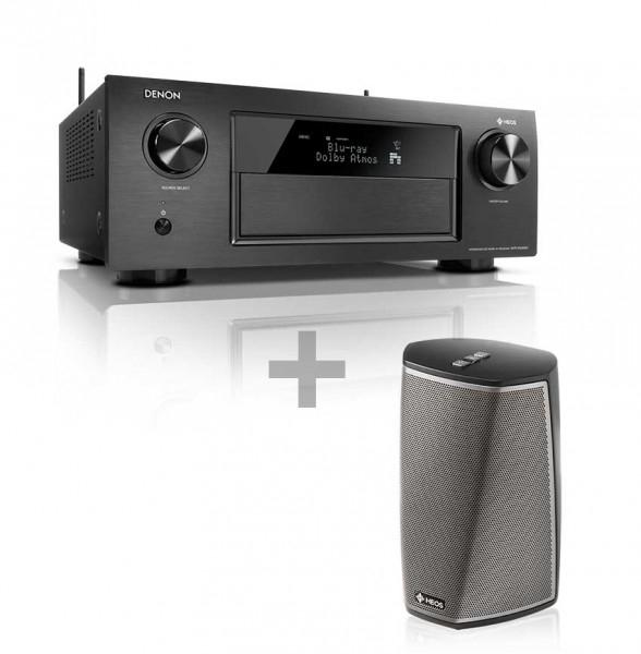 Denon AVRX4300H für 1079€ mit HEOS 1 HS2 @Comtech - 11.2 AV-Receiver + Multiroom Lautsprecher