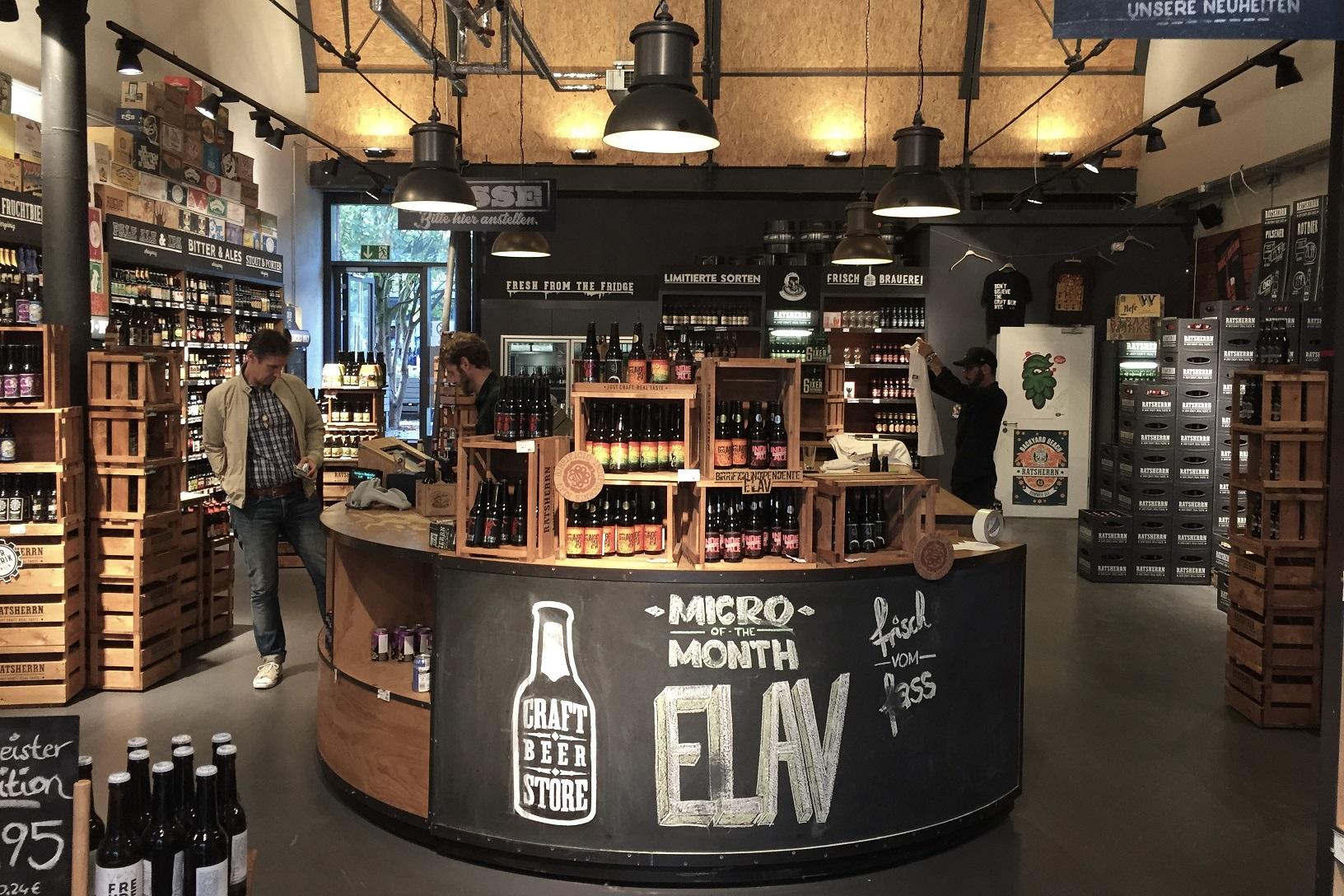 Gutes Craftbeer (kurzes MHD) ab 1,00€ im Craft Beer Store in Hamburg