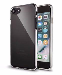 iphone 7 Schutz Hülle + 3 Folien Silikon Hülle Case transparente Hülle für 1€