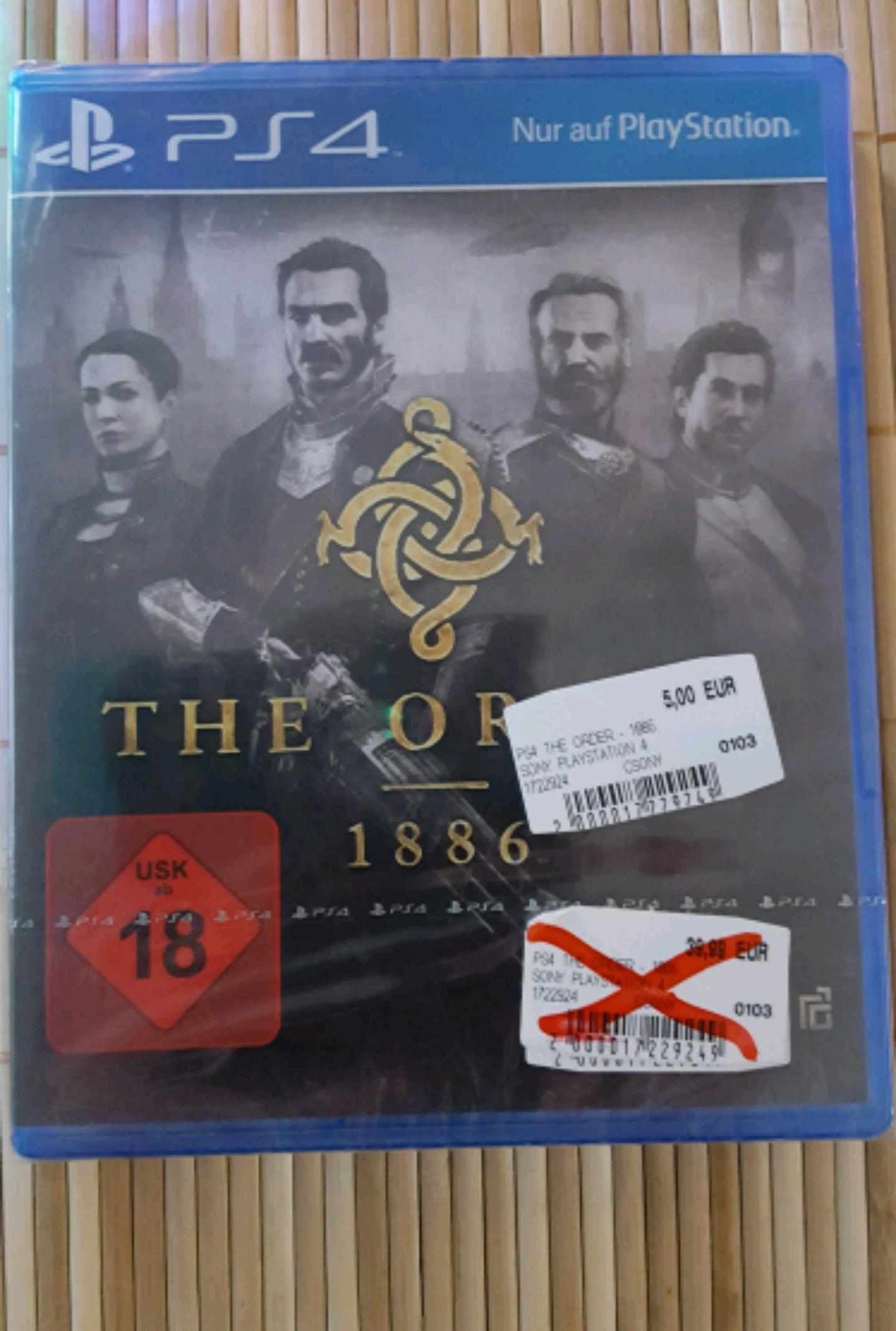 [Lokal MM 26721 Emden] The Order - 1886 für die PS 4