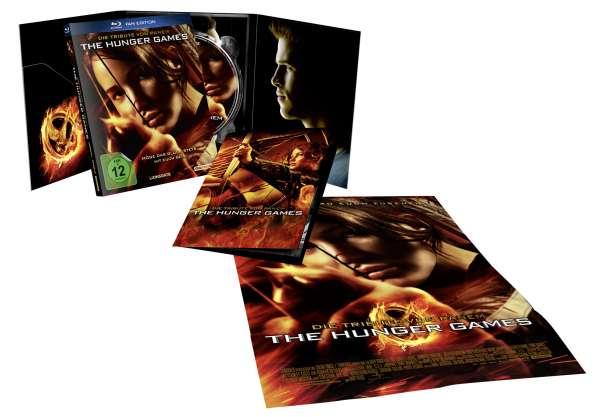 Die Tribute von Panem: Teil 1-4 als Fan-Edition (Bluray) für je 7€ & Teil 4 (Mockingjay Teil 2) als 3D-Bluray für 8€ [Mediamarkt]