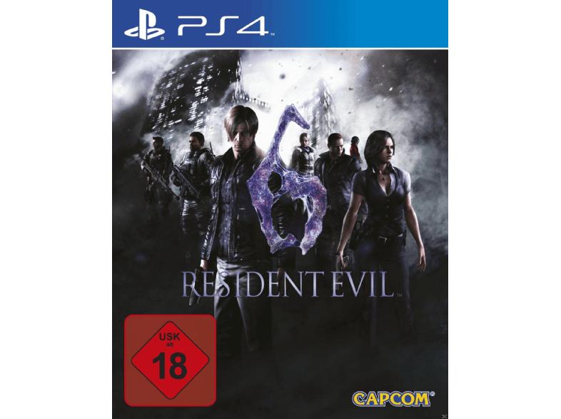 Resident Evil für PS4 Teil 4, 5 oder 6 je 15 € bei Mediamarkt