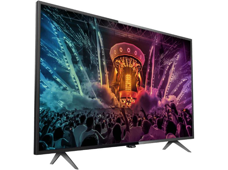 Philips 49PUS6101 inkl. 30€ Geschenkcoupon für 444€ @mediamarkt.de - 49'' UHD LED-TV mit Triple Tuner, 4x HDMI, 3x USB, CI+, LAN + WLAN, Smart TV, USB-Recording