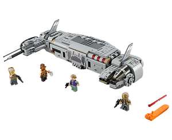 Lego 75140 Star Wars Resistance Troop Transporter für 34,99 € + Batmobil geschenkt!