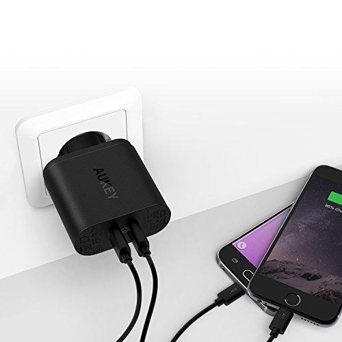 (Amazon Prime) AUKEY Quick Charge 3.0 USB 2x Ladegerät