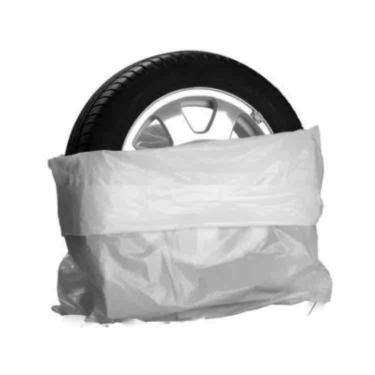 """4 x Reifentaschen für Autoreifen bis 22"""" + ein Satz Sommerreifen  GOODYEAR 205/55 R16 91V gratis dazu"""