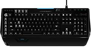 Logitech G910 Orion Spectrum Mechanische RGB-Gaming-Tastatur (QWERTZ, deutsches Layout) schwarz