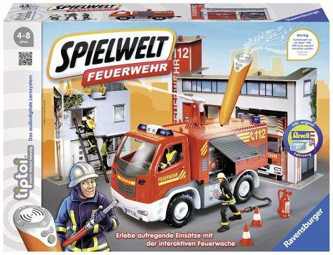 tiptoi Spielwelt Feuerwehr 19,99€ statt idealo 39,99€ [buecher.de]