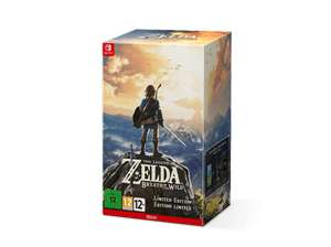 [Saturn Online] The Legend of Zelda: Breath of the Wild (Limited Edition) - Nintendo Switch