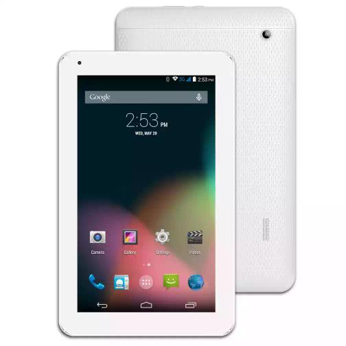 MP Man MPQCG10, 10 Zoll Tablet 1GB RAM, 16GB Speicher, 3G, Dual-SIM, Android 5.1, weiß