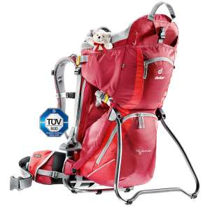 Deuter Kid Comfort II Kraxe in rot