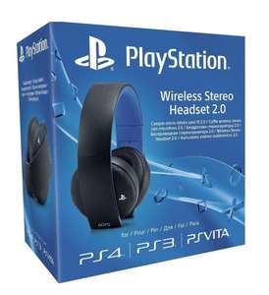 Sony PS4 Wireless Stereo Headset für 62,42€ [Amazon.co.uk]