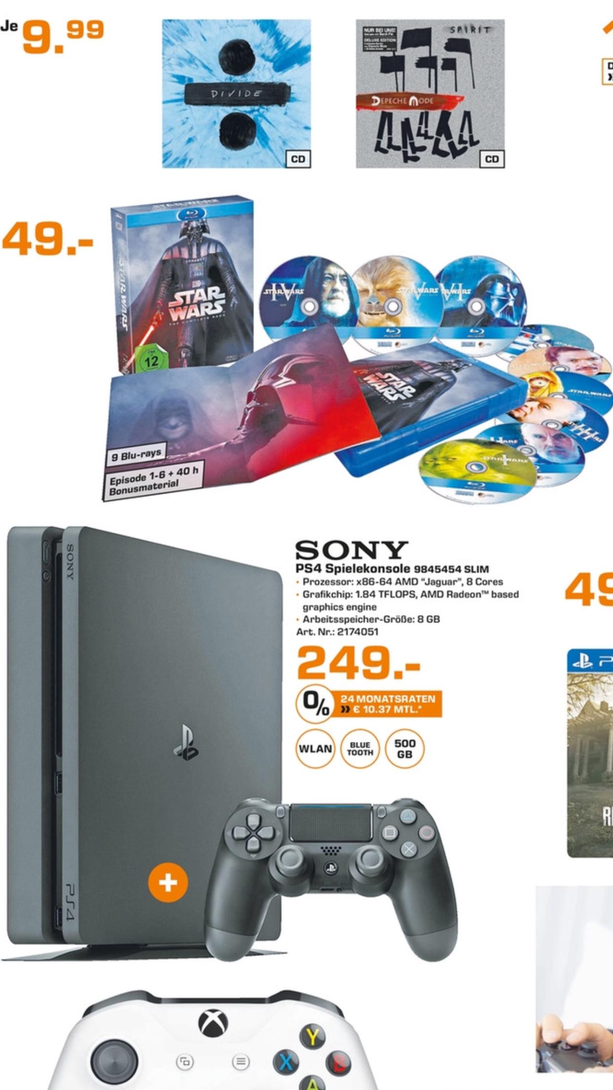 [LOKAL] Star Wars Complete Saga Blu Ray SATURN Stuttgart für 49€