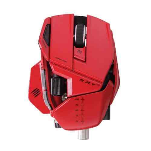 NBB Mad Catz R.A.T. 9 Wireless Gaming Maus, 6400 dpi, PC und MAC