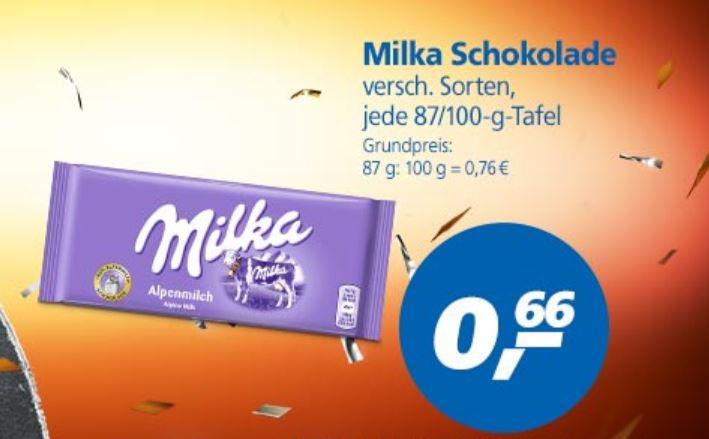 [Real - bundesweit] Milka Schokolade verschiedene Sorten für je 0,66€ + bei 5 Tafeln gratis Plüschkuh