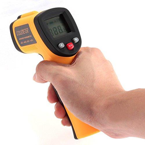 [Amazon Blitzangebot] COLEMETER Infrarot Laser Thermometer / Pyrometer / - 50 bis + 420 °C
