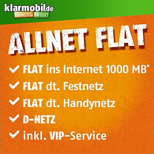[PRIME] Klarmobil Telekom-Netz All-Net  + 1 GB für 8,85 € / Monat mit 3€ Anschlusspreis