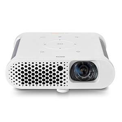 [Amazon Blitzangebot] BenQ GS1 portabler LED-Projektor (HD Ready 1280 x 720 Pixel, 300 Ansi Lumen, HDMI/MHL, Kontrast 100.000:1) weiß