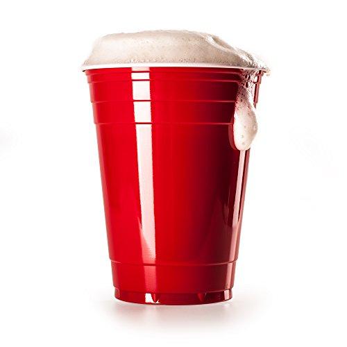 [Amazon] 50 Stück Rote Partybecher Bierpong Red Cups Party-Cups für €5,95 - keine Versandkosten für Prime Kunden