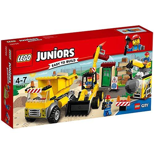 Lego Juniors 10734 Große Baustelle für 19,99€ mit [Amazon Prime]