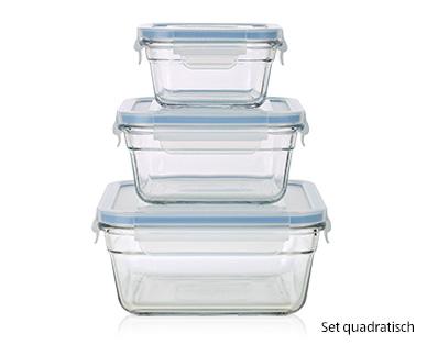 Glasslock Frischhaltedosen-Set aus Glas