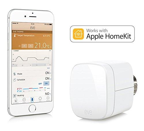 [Amazon Blitzangebot] Elgato Eve Thermo - Heizkörperthermostat mit Apple HomeKit-Unterstützung,