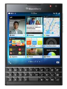 BlackBerry Passport schwarz