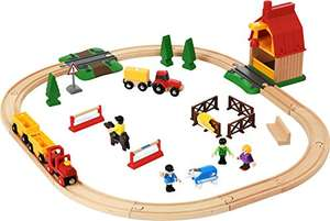 Amazon Prime: BRIO 33425 - Horse Farm Set