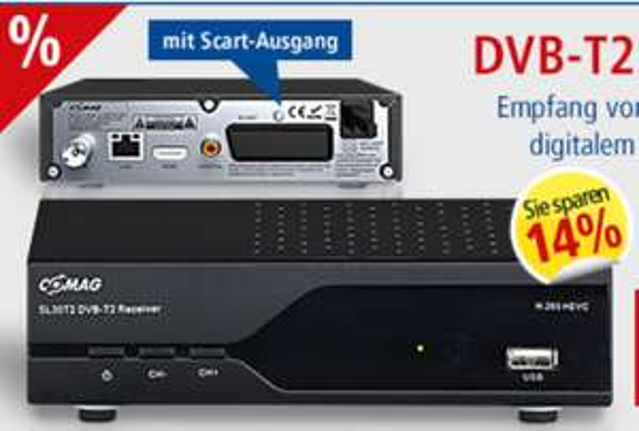 [Pollin.de] DVB-T2 Receiver nur ARD/ZDF etc. für 29,90€ inkl. Versand
