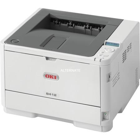 ZackZack Angebot: Oki B412dn Laserdrucker, Druck/Minute: s/w 33 Seiten, Duplex, 3 Jahre Vor-Ort-Service Next Day, Test: Sehr gut, Preisvergleich: 124,89 Euro