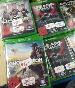 (Saturn Mülheim) Xbox One Angebote ab 15€: GoW UE / GoW 4 / Ghost Recon / For Honor /