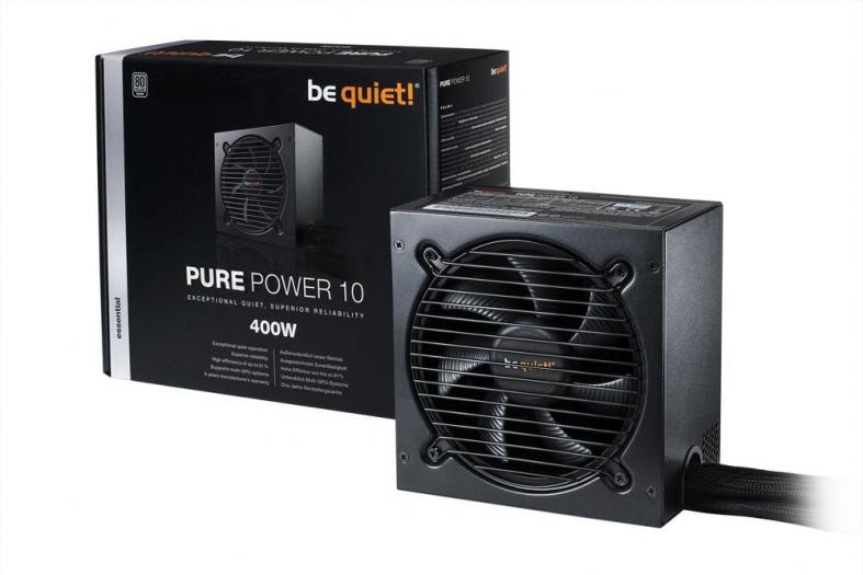 be quiet! Pure Power 10 400W Netzteil (DC-DC, 80+ Silber) für 47,82€ - mit Gutschein+Füllartikel z.B. 44,68€ [digitalo]