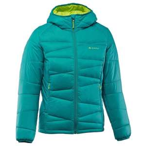 Quechua Daunenjacke X-Light 2 Damen in Grün (Decathlon, versandkostenfrei)