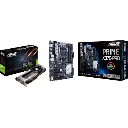 ZackZack Angebot: Asus PRIME X370-PRO + Asus GTX 1080 Ti FE Bundle