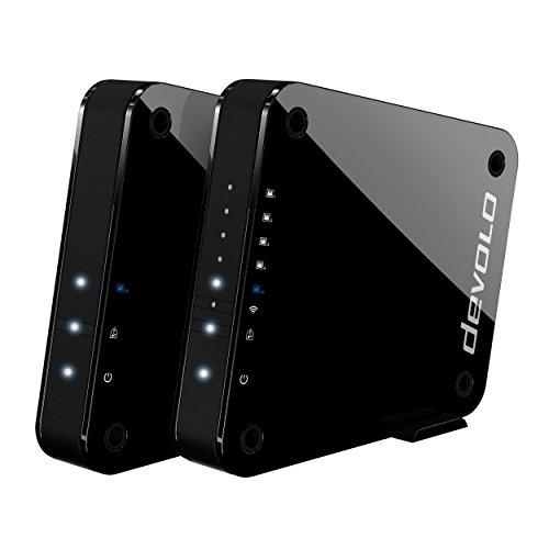 [amazon.fr]  devolo GigaGate WLAN Bridge (2 Gbit/s Verbindung, 1x Highspeed Gigabit Port, 4x Fast Ethernet Ports, Punkt-zu-Punkt-Verbindung per 5GHz-Band, Highend-Multimedia-Erlebnis, AES Verschlüsselung) für 175€ statt 216€