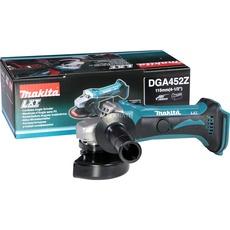 Makita Akku-Winkelschleifer DGA452Z, 18Volt (blau/schwarz, ohne Akku und Ladegerät) für 59,90€ (ab 12 Uhr 39,90€ möglich)[Alternate]