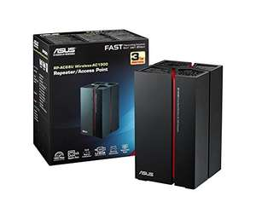[amazon.it]  Asus RP-AC68U AC1900 Dual-Band Power Repeater (802.11 a/b/g/n/ac, 5x Gigabit LAN-Port, USB 3.0, Asus Gaming Design, Roaming Assist-Technik)  für 104€ statt 149€