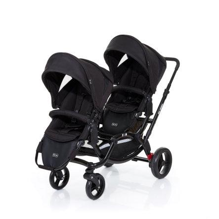 ABC Design Geschwisterwagen Zoom black inkl. 2 Sportwagenaufsätze für 325,49€ versandkostenfrei bei [babymarkt]