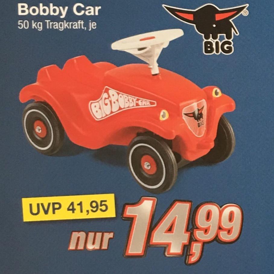 UPDATE[lokal] BIG Bobby Car Classic für 13,49 | gegenüber Idealo Gesamtpreis 15 Euro Ersparnis am 31.3. und 1.4.