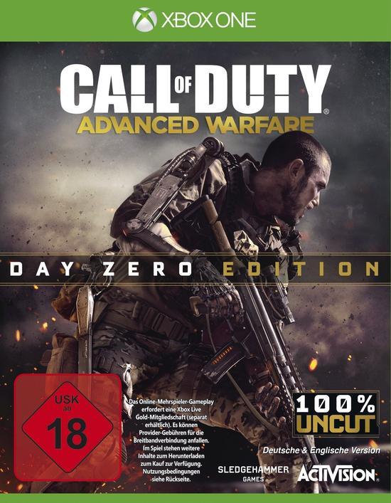 Call of Duty: Advanced Warfare - Day Zero Edition (Xbox One) für 9,96€ (GameStop)