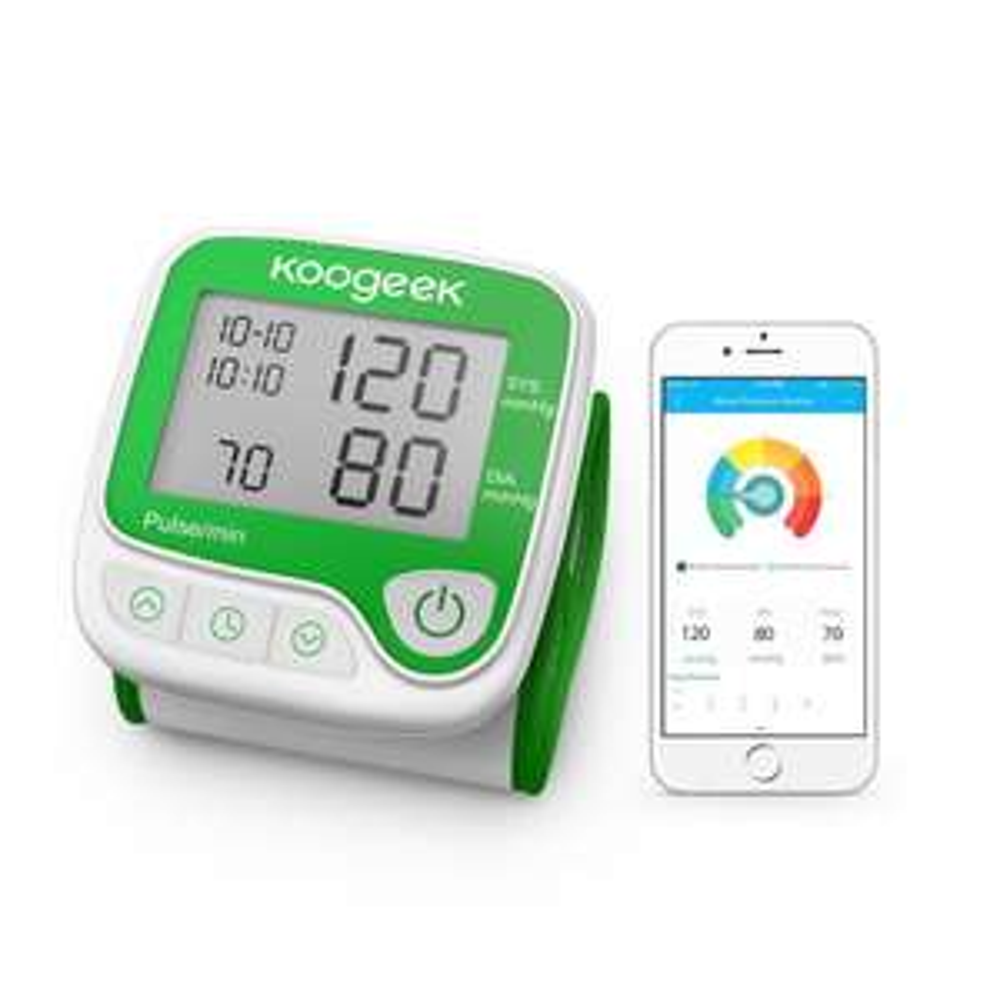 Koogeek Smart & Bluetooth Elektronische Handgelenk Blutdruck Digital